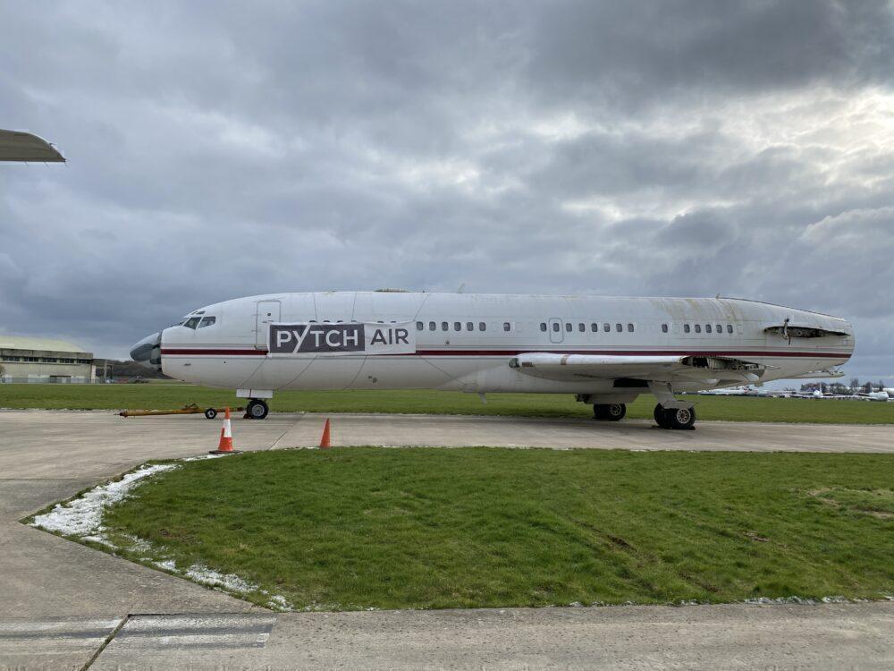 PytchAir Boeing 727 Fuselage