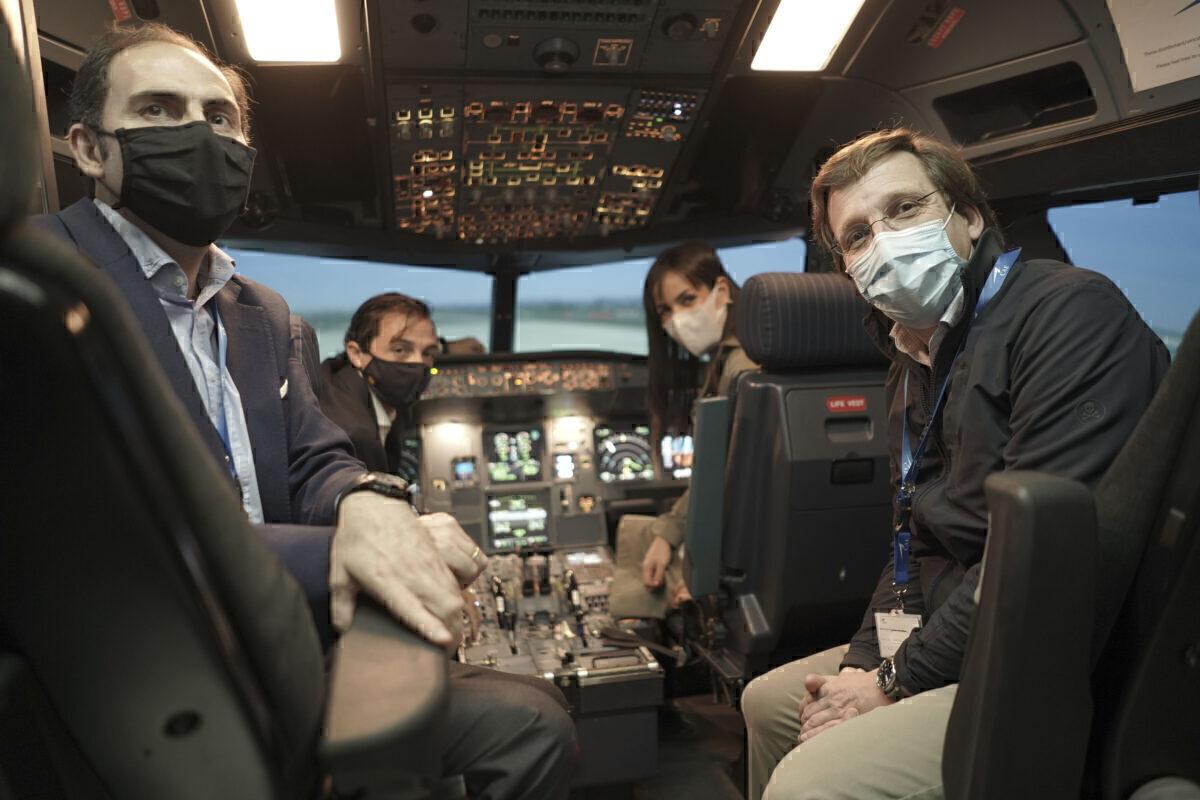 Iberia flight simulator