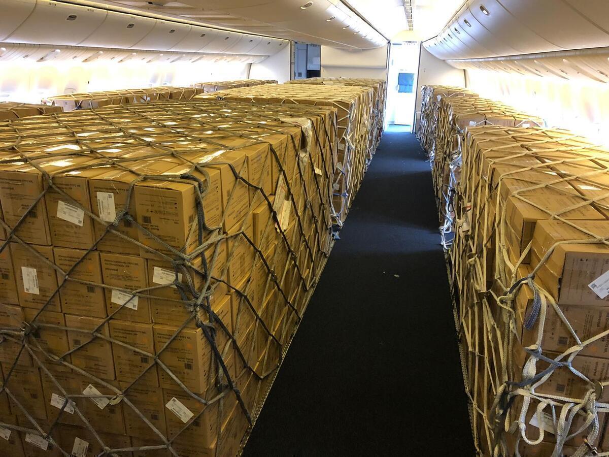 British Airways, Boeing 777, Preighter