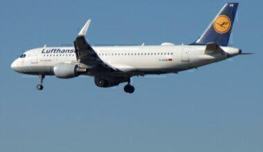 Jake Hardiman Lufthansa Airbus A320 Frankfurt 2