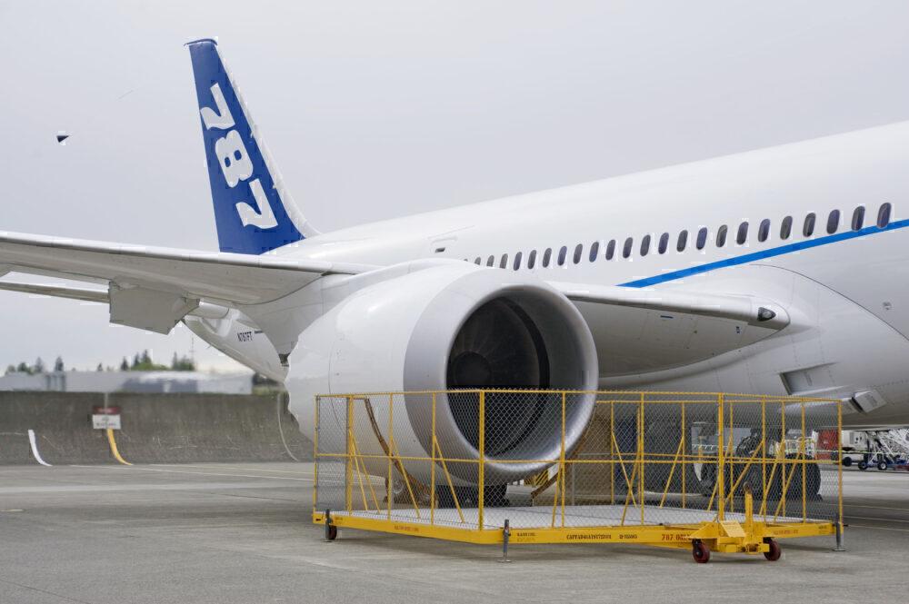 787 test aircraft