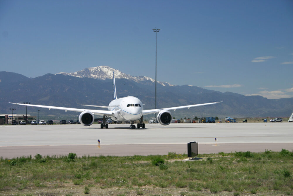 787 altitude testing