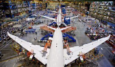 787 production line