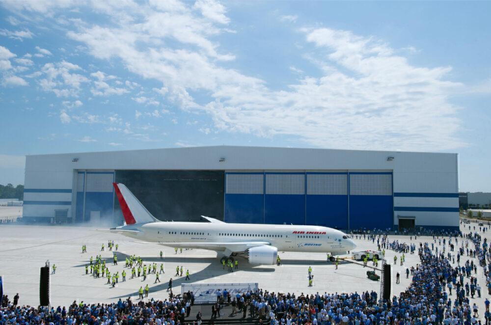Boeing 787 South Carolina