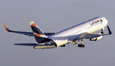 LATAM Airlines Boeing 767-316(ER) CC-CXF