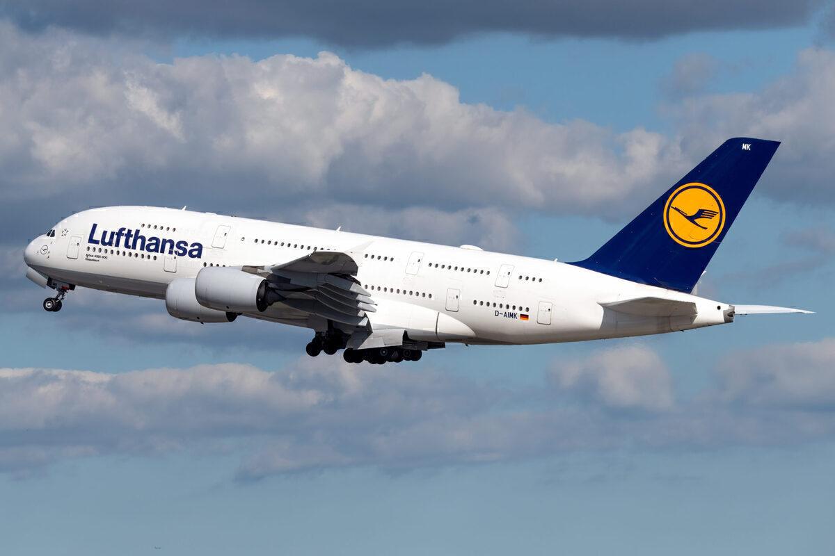 Lufthansa, Airbus A380, Long-term storage