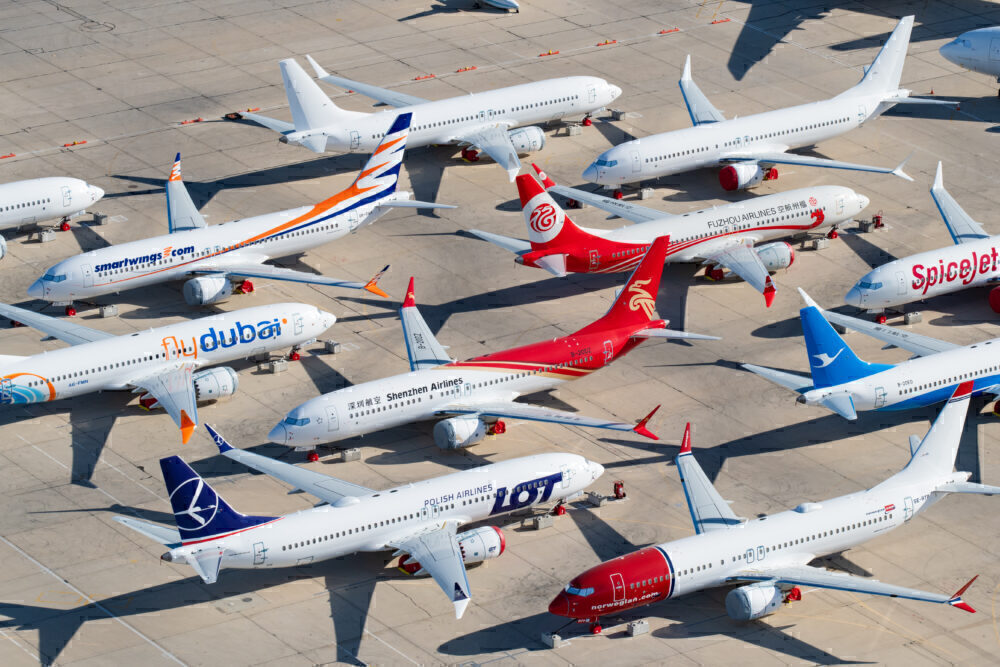 Multiple Airlines Boeing 737 MAX 8