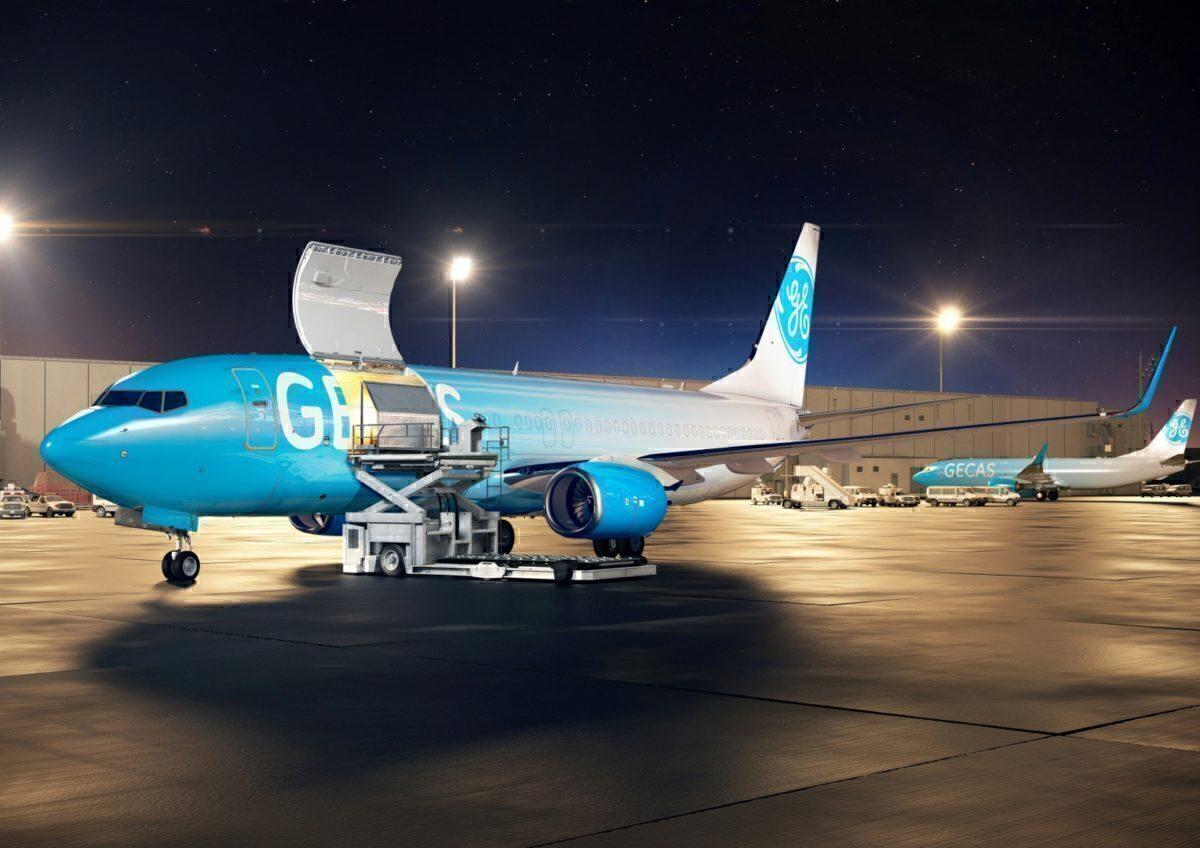 GECAS converted Boeing 737-800 freighter