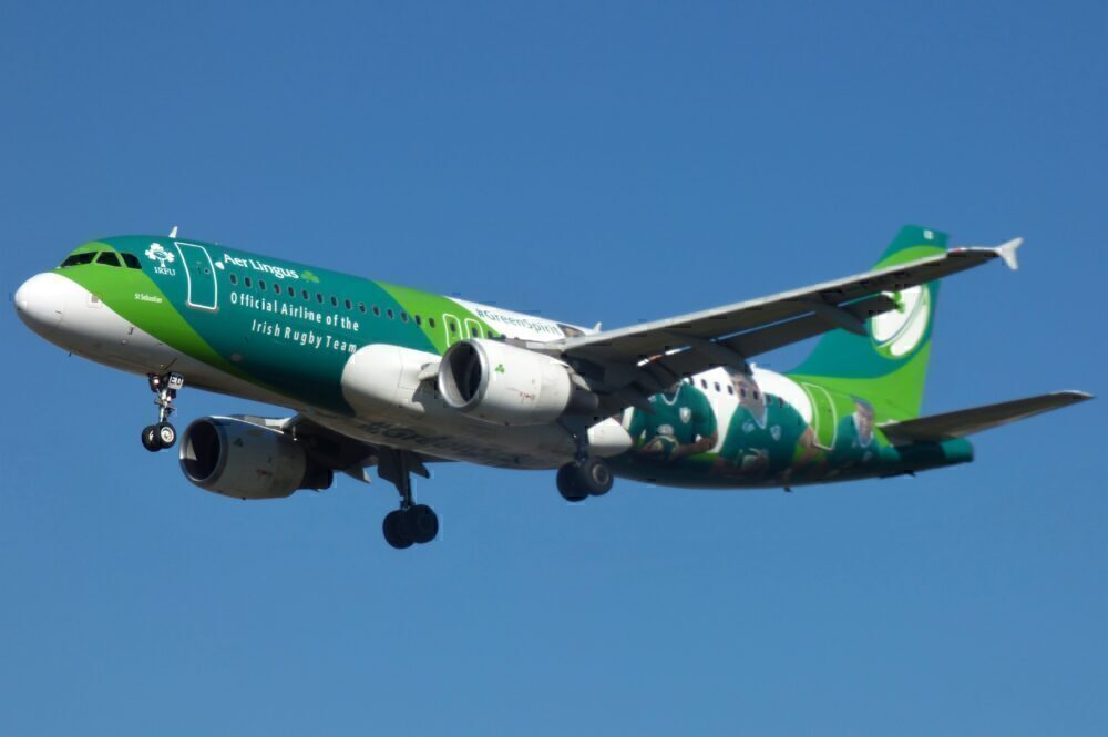 Aer Lingus Rugby Livery