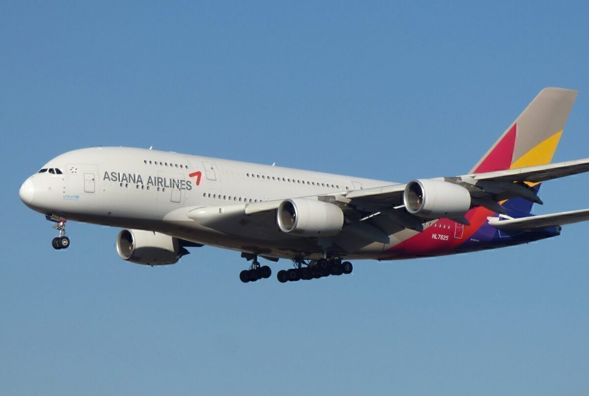 Asiana Airbus A380 Frankfurt