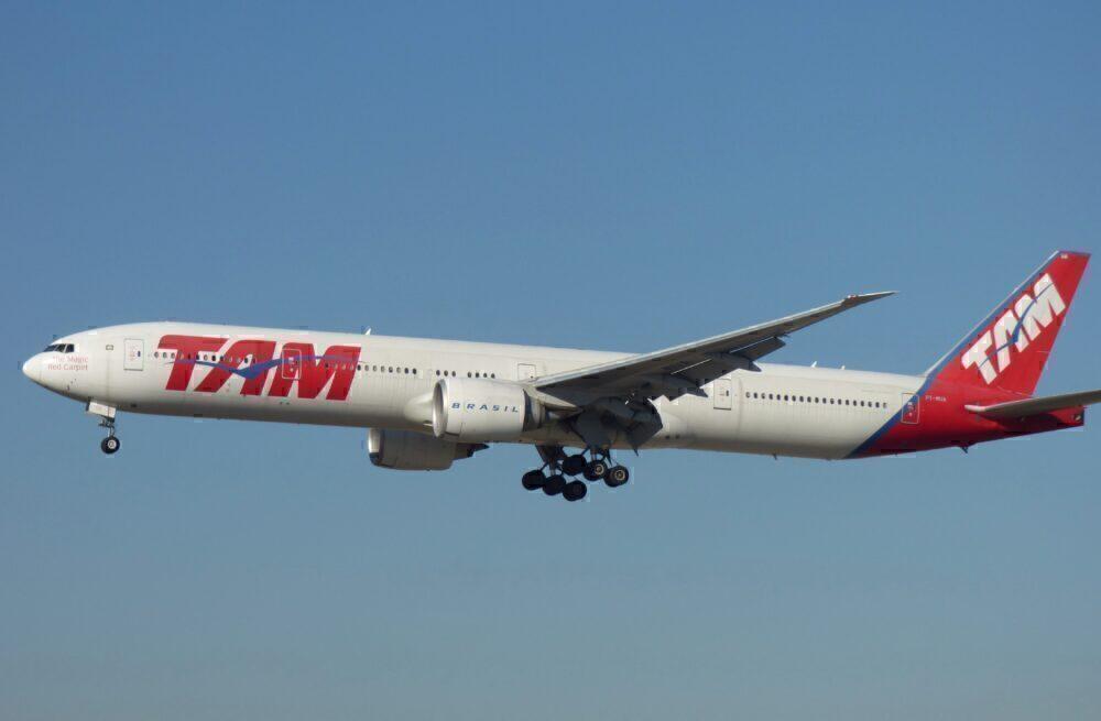 LATAM Brasil Boeing 777 Frankfurt