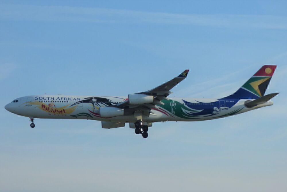 South African Airways Airbus A340-300 Frankfurt
