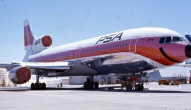 Pacific Southwest Airlines Lockheed L-1011