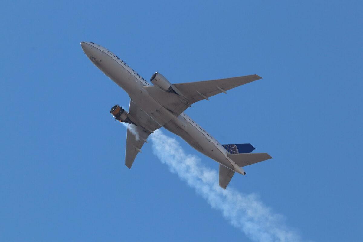 United Boeing 777 Loses Engine Parts Over Denver - Simple Flying