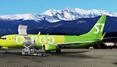 S7 Boeing 737-800BCF