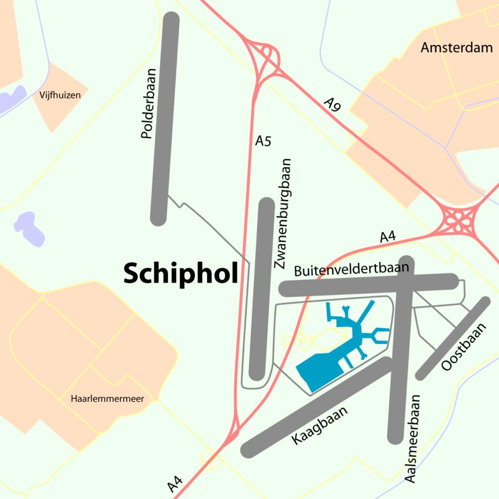 Amsterdam Schipol Runways