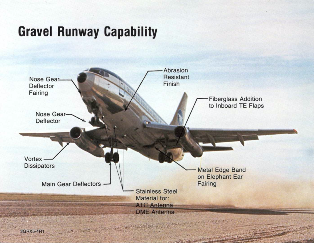 Gravel Kits: How Boeing 737s Could Land On Dirt Runways