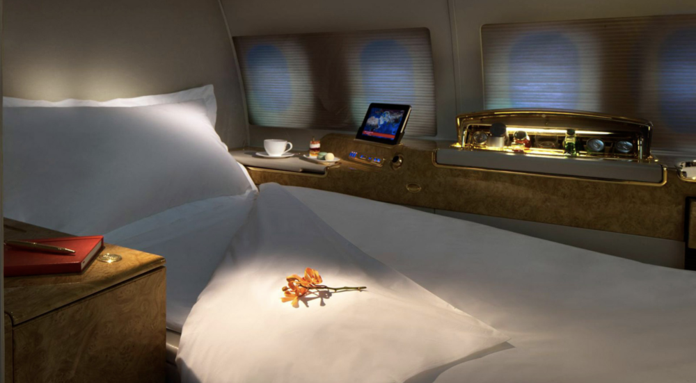 Inside Emirates' Ultra Luxury Airbus A319 Private Jet