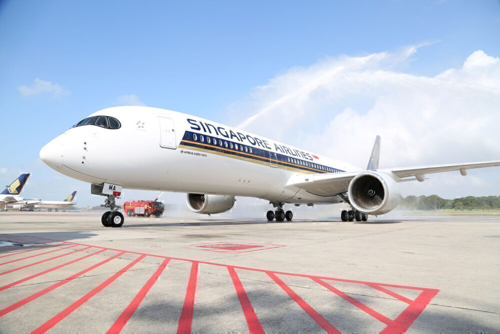 Singapore SIA A350