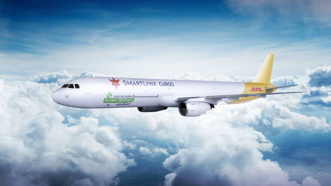 SmartLynx Malta To Fly Airbus A321-200 Freighters For DHL Express