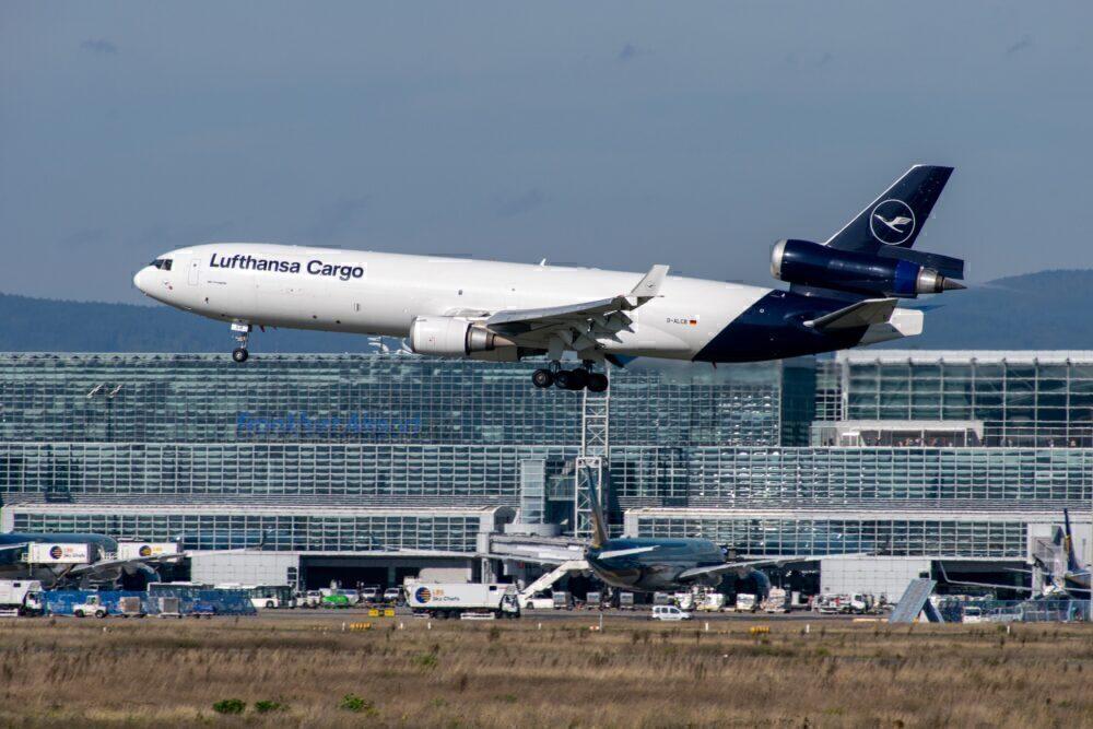 Lufthansa Cargo MD-11 Frankfurt