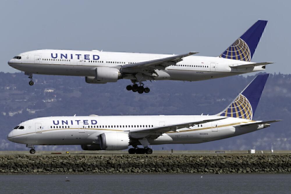 United planes