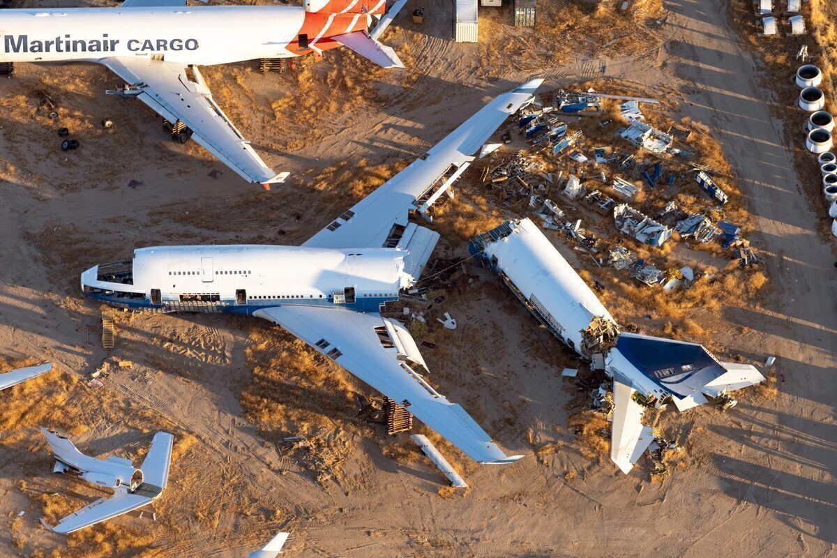 United Airlines, Boeing 747, Scrapped