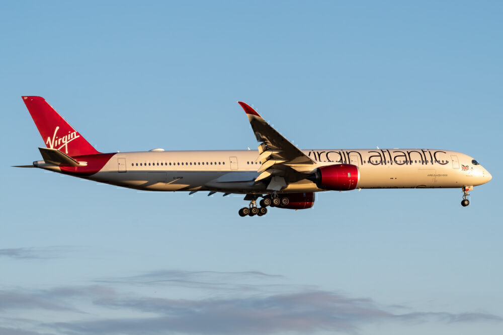 Virgin Atlantic Airbus A350-1041 G-VPOP