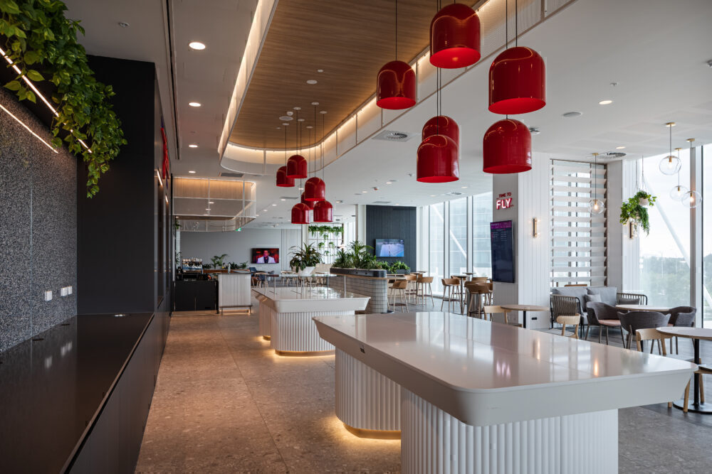 Virgin Australia Adelaide Lounge_servery