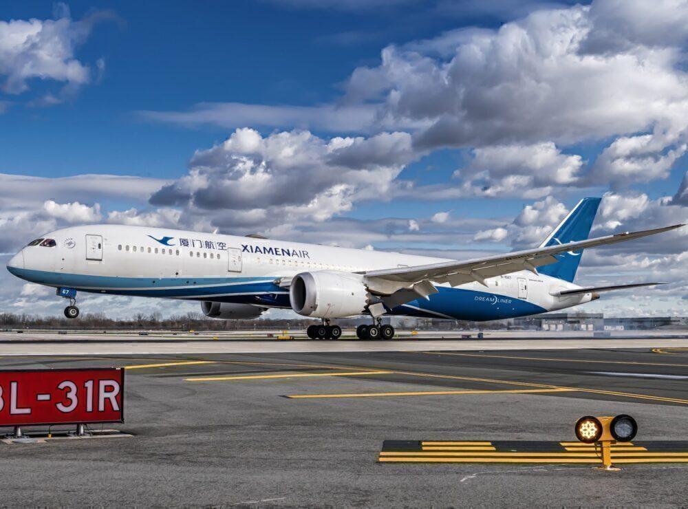 Xiamen Air Boeing 787-9 Dreamliner B-1567