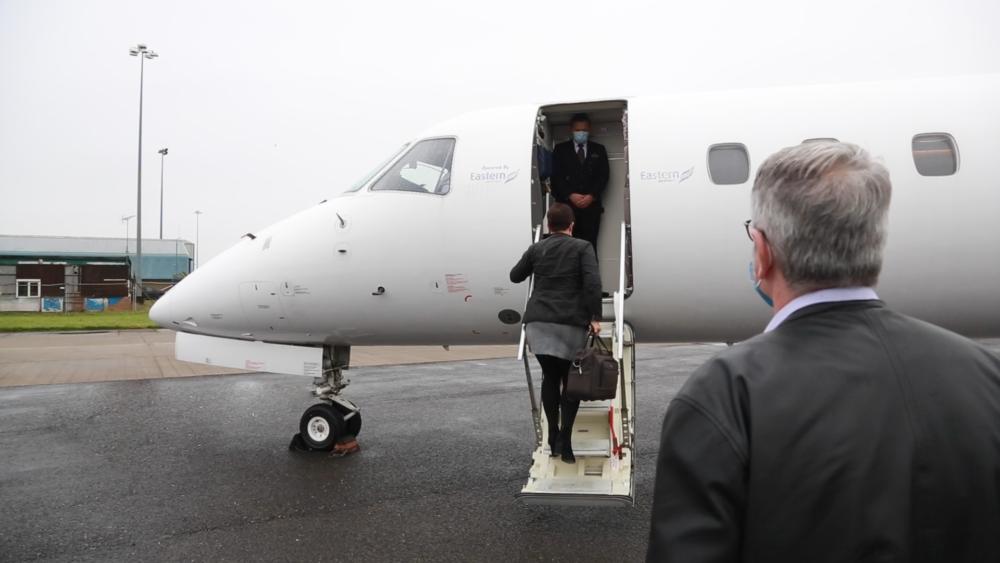 Eastern Airways Boarding