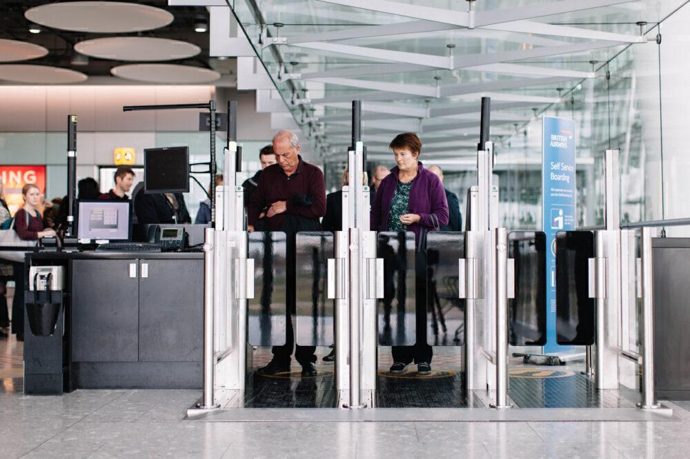 Biometric gates