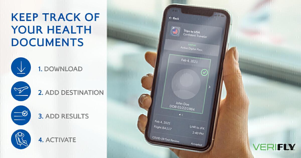 British Airways, VeriFLY, Health Passport