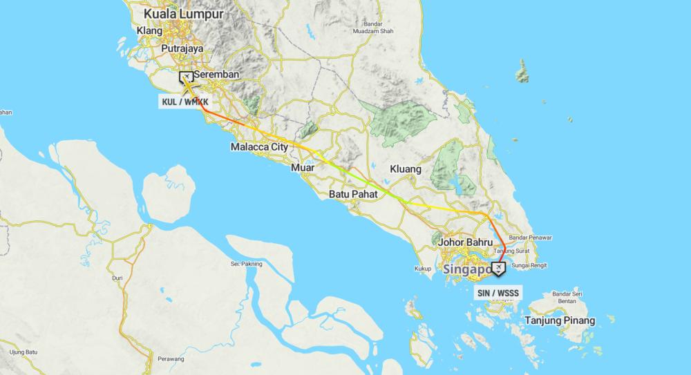 Malaysia Vaccine Flight
