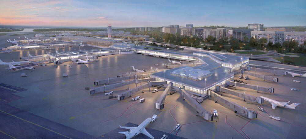 Reagan National New Concourse