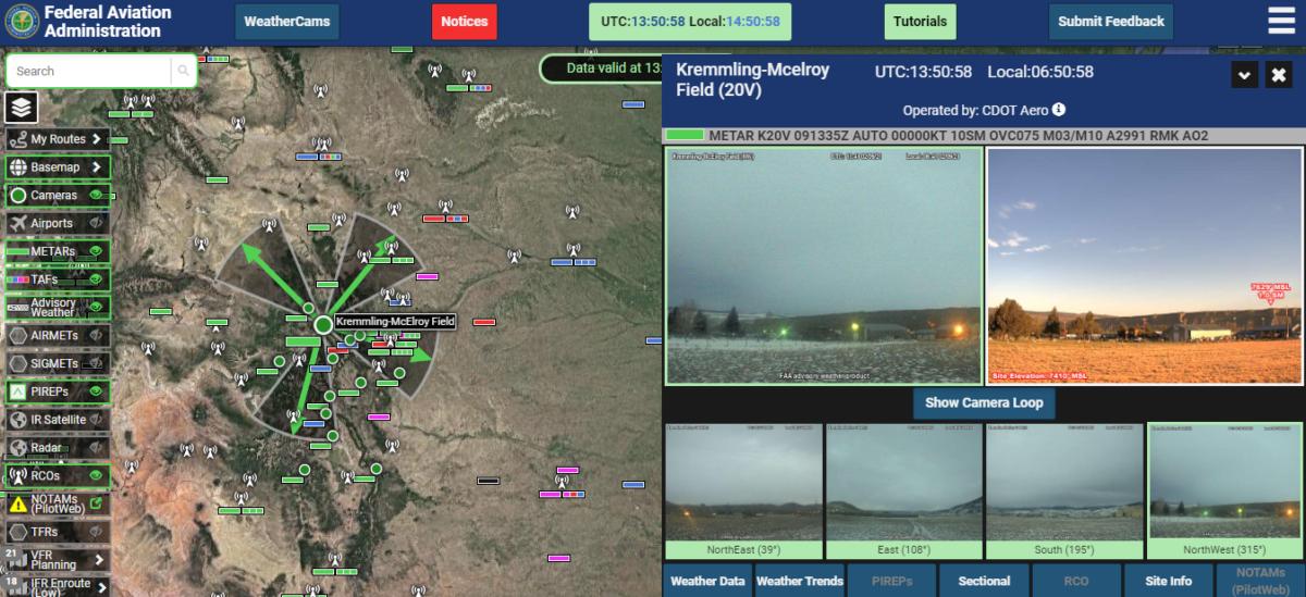 weather cam images Colorado