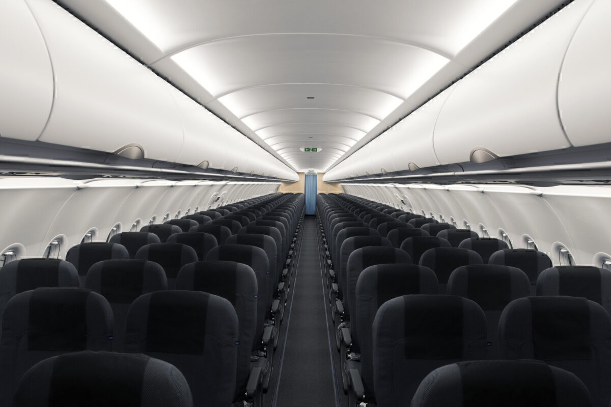 SAS A320neo cabin