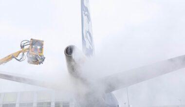 Alaska Airlines Snow