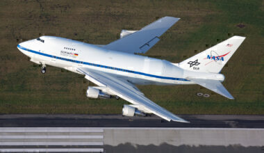 NASA SOFIA Boeing 747