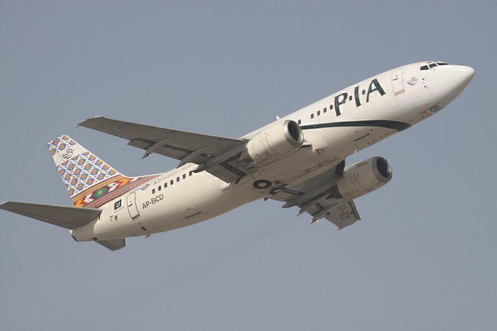 Pakistan International Airlines PIA Boeing 727 Dubai