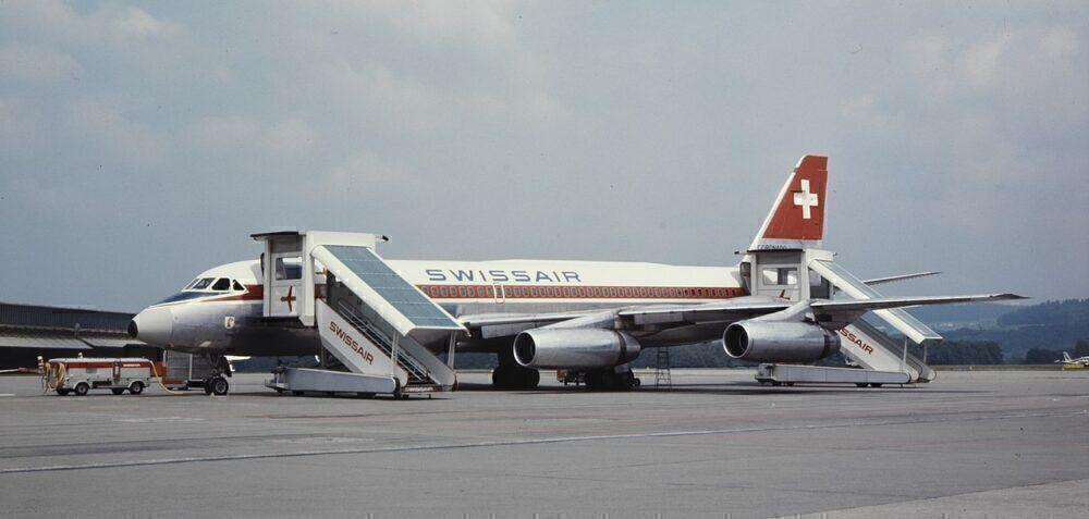 Swissair Convair 990 Coronado