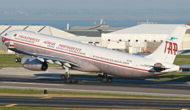 TAP Portugal retro A330