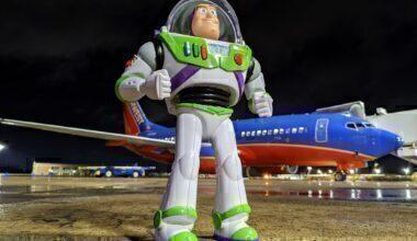 Southwest Buzz Lightyear toy