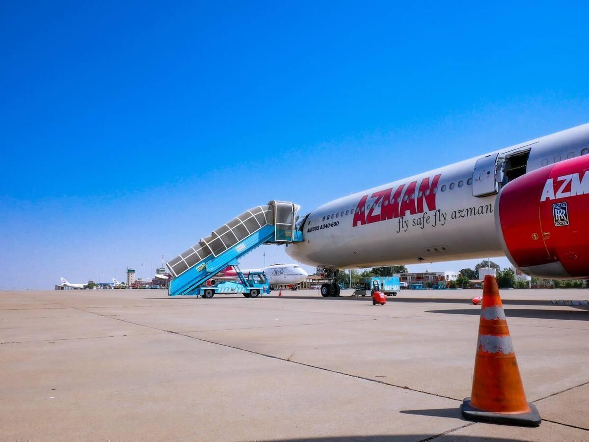 Azman Air, Airbus A340, Flight Suspension
