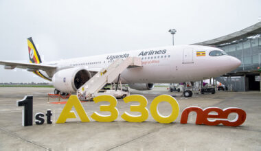 1st-A330neo-delivery-to-Uganda-Airlines-Ribbon-Cutting-001