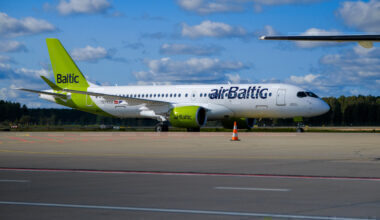 airbaltic, paper free cockpit, non-eu flights
