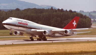 Swissair Boeing 747