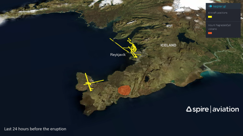 Icelandic Eruption: Why There Was An Explosion Of Aircraft Activity At The Eruption Site