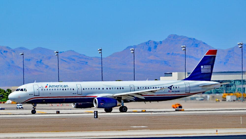 AA US Airways A321