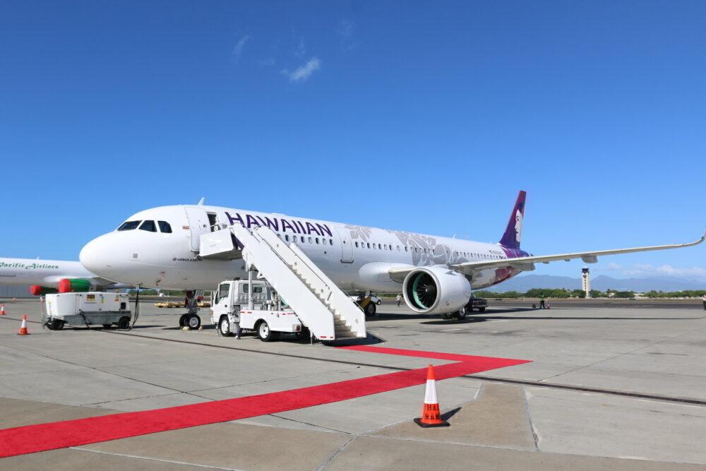 Hawaiian Airlines Airbus A321neo Aircraft